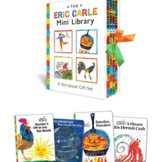 BNIB The Eric Carle Mini Library: A Storybook Gift Set (The World of Eric Carle)