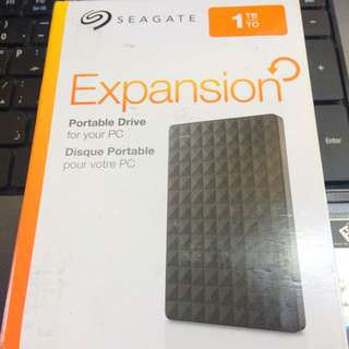 SEAGATE EXPANSION 1TB EXTERNAL HARD DRIVE