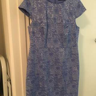 Tokito Cornflower Blue Dress