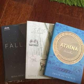1 Set Novel Rina Suryakusuma Falling Gayle Forman If I Stay Evelin Natawiria Athena