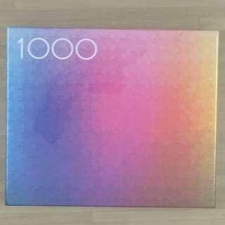 Clemens Habicht 1000 COLOURS Jigsaw Puzzle Jig Saw