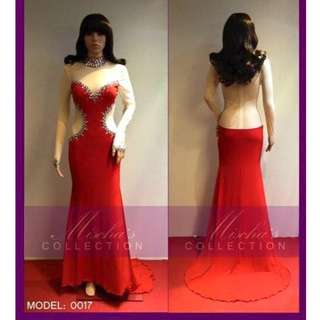 STRETCH GOWN FOR RENT / SALE