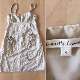 Sz 4 Nanette Lepore Dress