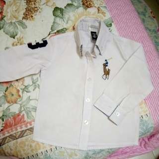 Ralph Lauren Shirt For Kids, ( Not Original)  Size 2 Years