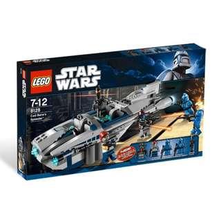 LEGO Star Wars Cad Bane's Speeder (8128)
