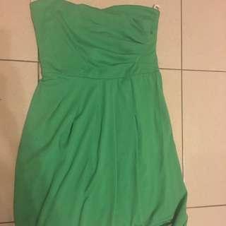 Vibrant Green Tube Dress