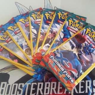 Pokemon Packs Lot Of 10 Sealed Packs