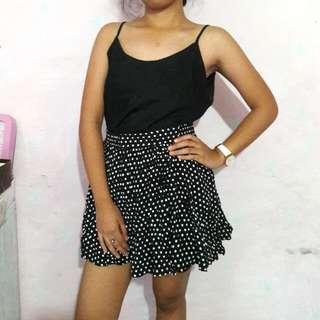 Black Top & Skirt