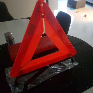 Red Triangle (Car Breakdown Signage)