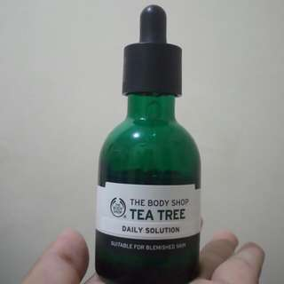 SALE Tea Tree Daily Solution By Body Shop