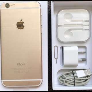 Gold iPhone 128gb
