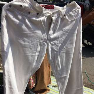 White Trousers By Request