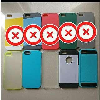 iPhone 5/5s/SE case $10/each