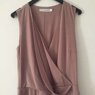 Mauve Cocktail Dress Size 8