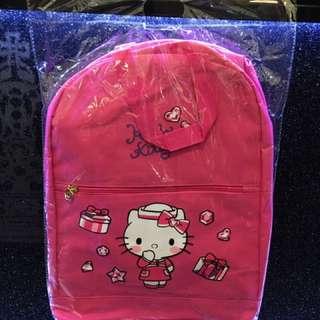 🚚 Hello Kitty經典桃紅後背包