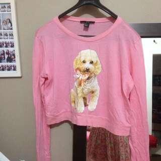 Forever21 Sweatshirt Crop