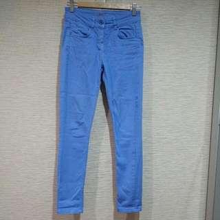 Asos休閒藍色褲