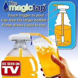 minum drink Magic Tap as seen on tv automatic drink dispenser magictap