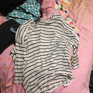 Zara Longsleeve Striped Top