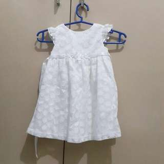 Periwinkle Baby Gown