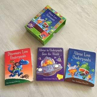 Alien Love Underpants Story Books