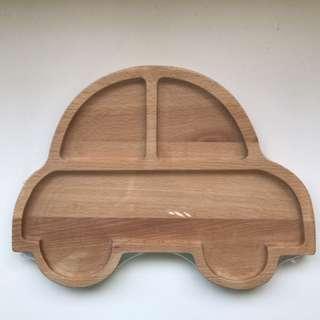 Wooden Car Plate
