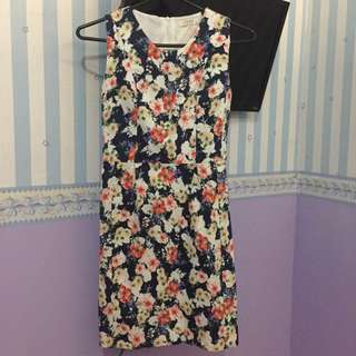 Floral Bodycon Dress by Fond