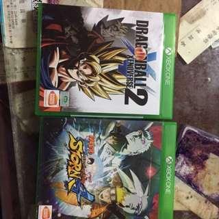 Xbox One 火影忍者終極風暴加七龍珠異戰2