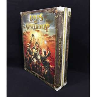 LORDS OF WATERDEEP - Dungeons & Dragons board game