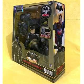 ARMOURED BATMAN - Metals Die Cast Armored, 6 Inches (Batman Vs. Superman)