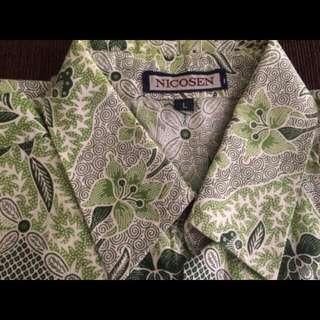 Kemeja Batik Size L