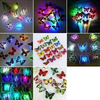 Lampu Tidur Butterfly