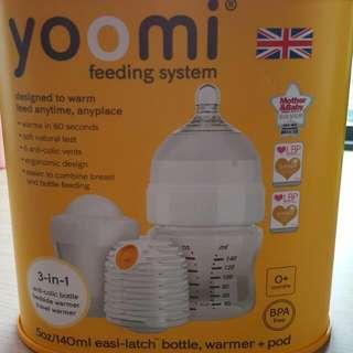 Yoomi Feeding System ( Self Warming Bottle)