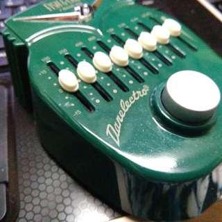Danelectro 7 Band Eq Guitar pedal