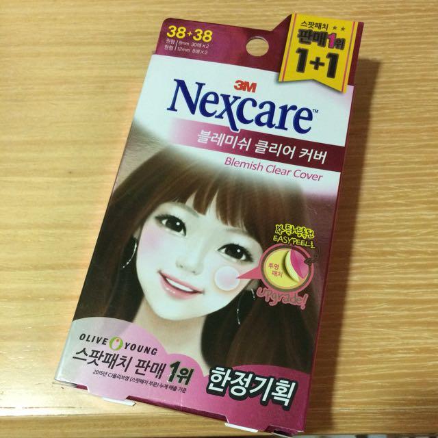 3M Nexcare痘痘貼 韓國購入