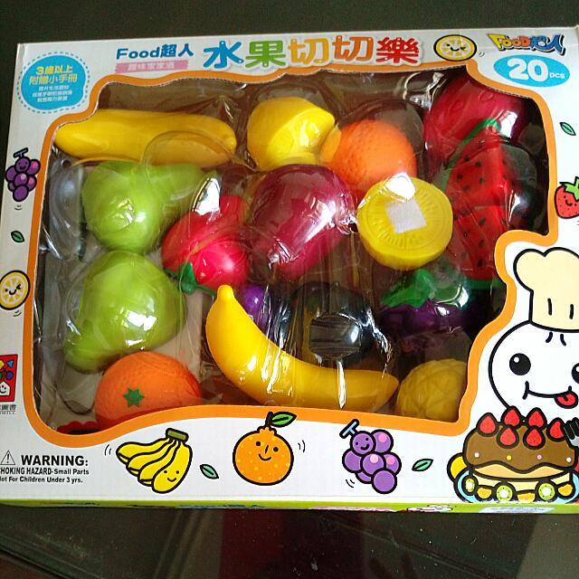 水果切切樂玩具