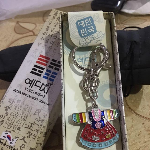韓國傳統服裝鑰匙圈