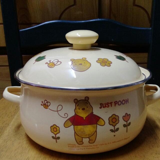 小熊維尼鍋具,免費贈送