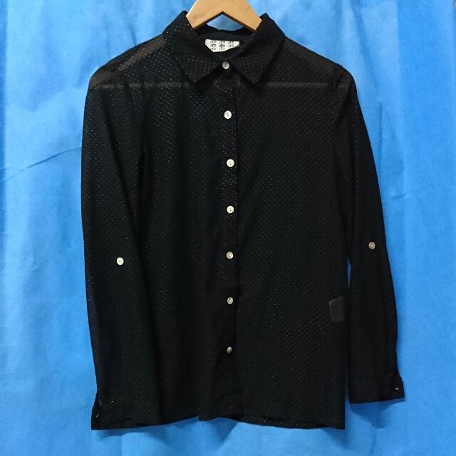 黑色 襯衫 長袖