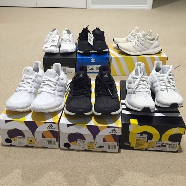 best loved 5cbee 845db Adidas Ultra Boost 1.0 And 2.0 NMDS R1 For Sale, Men's ...