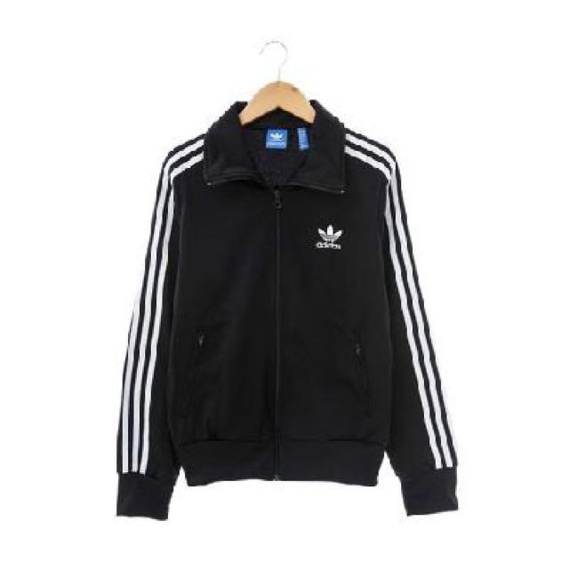 adidas(女)運動外套(連帽)-黑-AJ8416