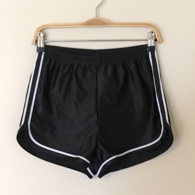 American Apparel- Poly Dazzle Running short