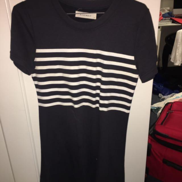 Assembly Navy Dress
