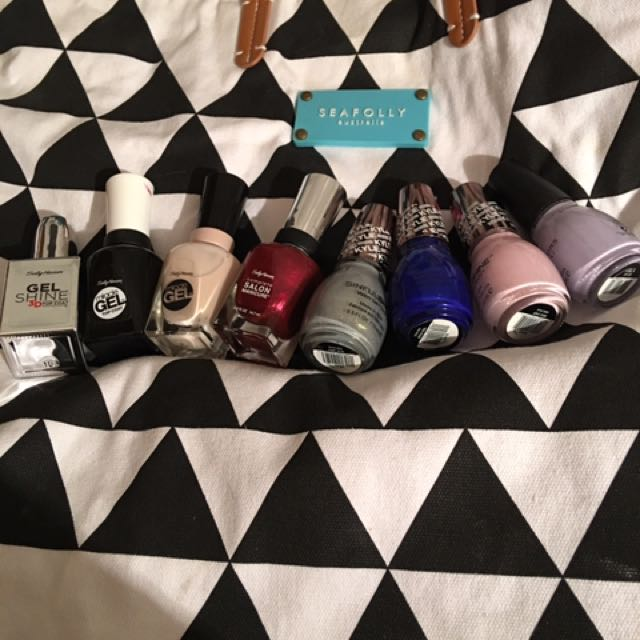 Assorted Nail Polishes