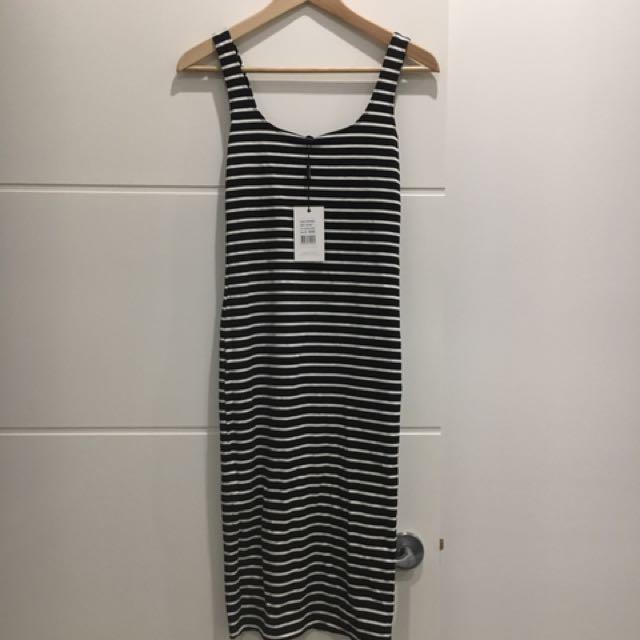Bardot Stripe Fitted Dress