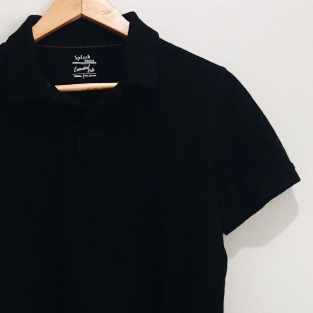 Black Poloshirt
