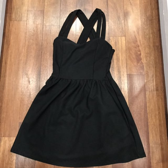 Black Cross Dress