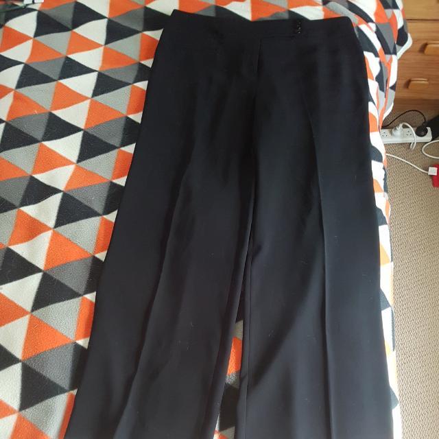 Black Principals Dress Pants, Size 14