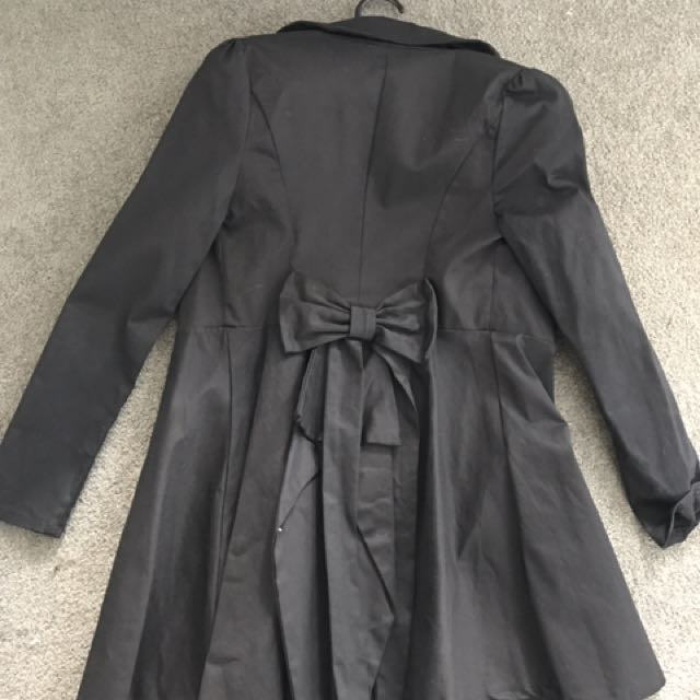 Black Showpo Coat