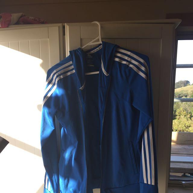 Blue Adidas Jumper Size XS